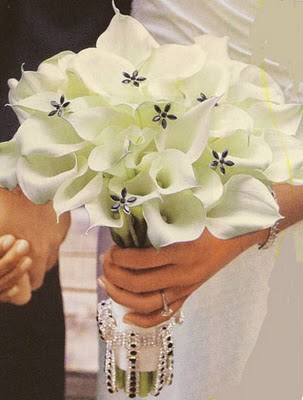 White Callas and Jewels