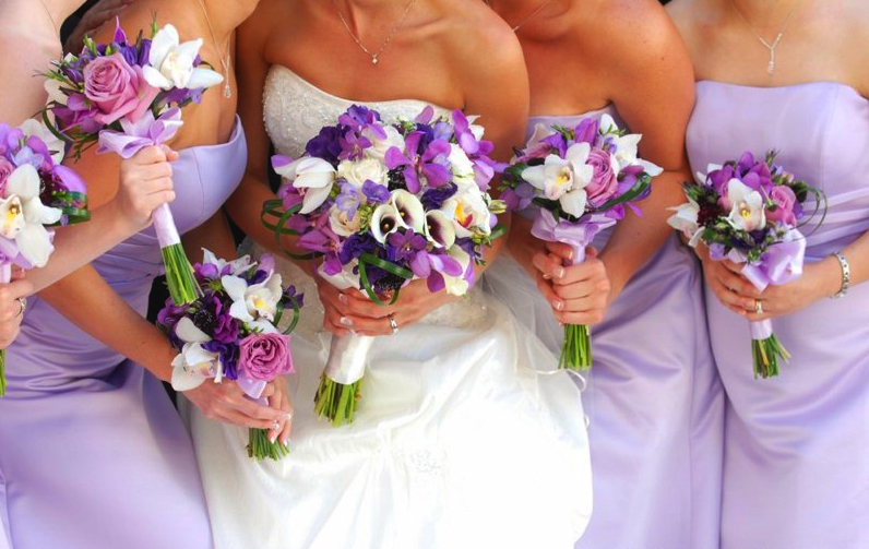 A Passion for Purple - Bouquet Wedding Flower
