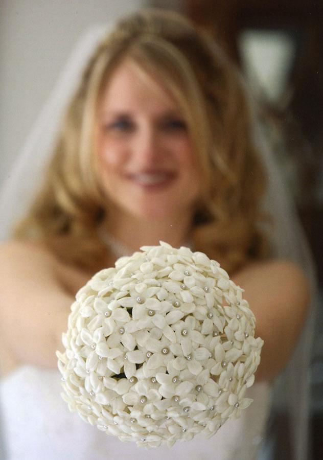 Simple Stephanotis Bouquet