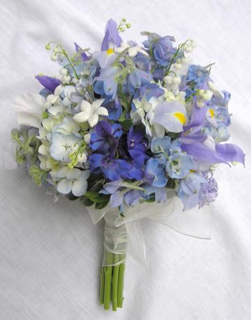 Bouquet of Cool Colors