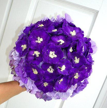Deep Purple Posy