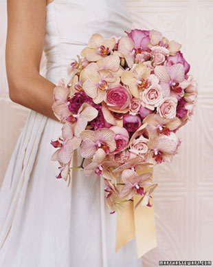 Orchids and Roses in Pink