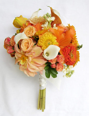 Orange and Gold Bouquet