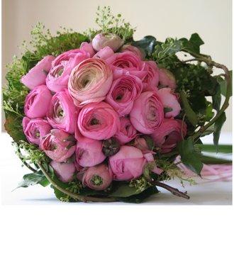 Hot Pink Rununculus Bouquet