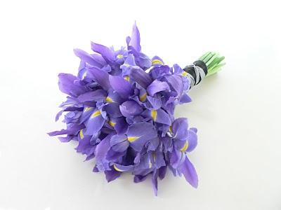 Simple Iris Bouquet