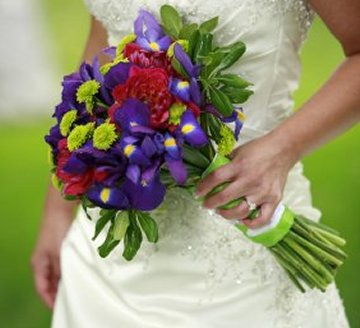 Red, Purple and Green Bouquet