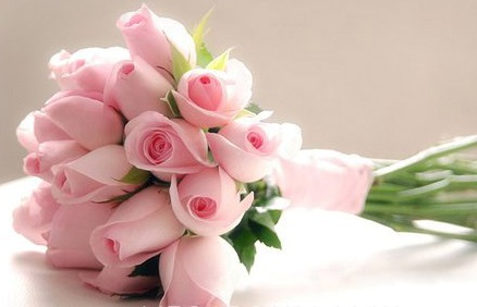 Light Pink Roses Bouquet