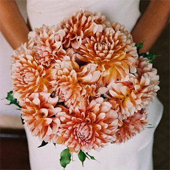 Orange Orchids Bouquet