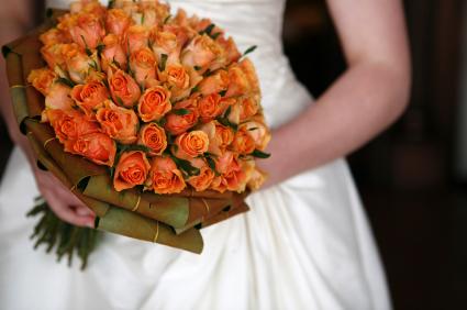 Small Orange Roses