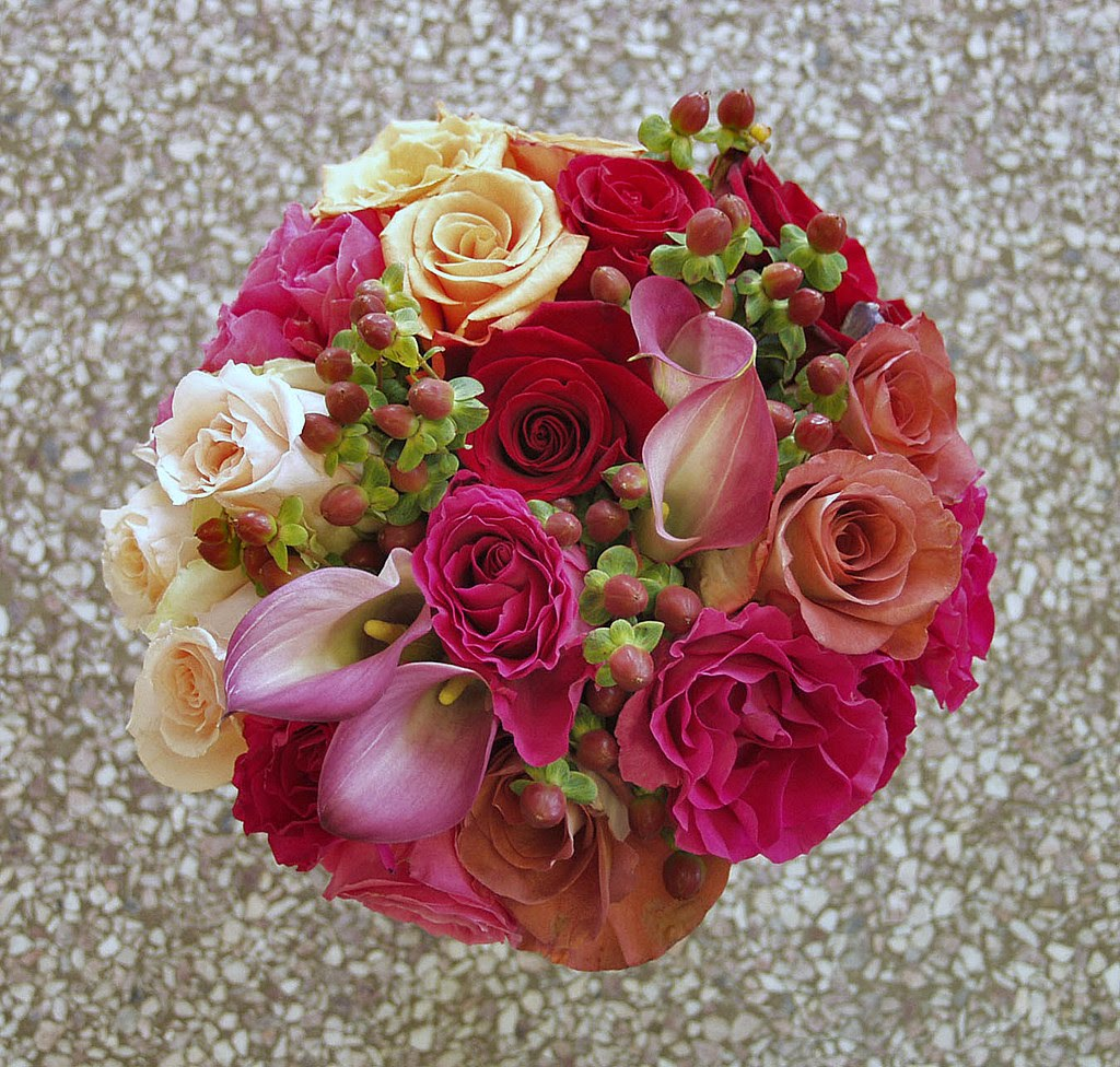 Fall Roses Bouquet