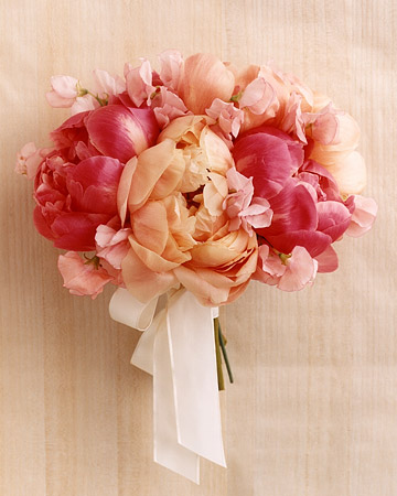 Sweet Peas and Peonies
