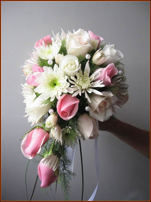 Glorious Pink and White Bouquet