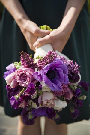 Vibrant Purple Bouquet