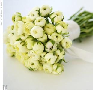 Creamy White Rununculus Bouquet
