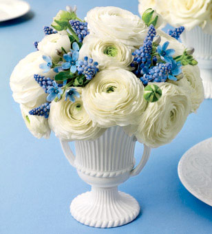 Wedgewood Inspired Bouqet