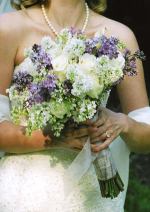 Lavender and White Lilacs
