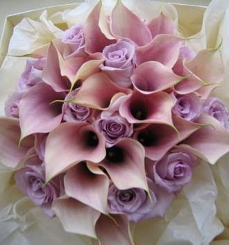light purple bouquet