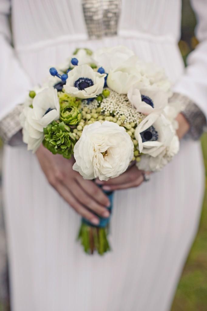 bohemian bouquet wedding