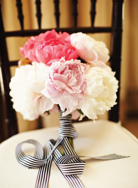 Peony Bridal Bouquet with
