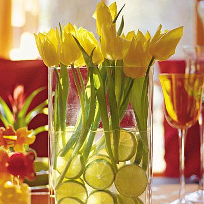 Tulip Centrepieces