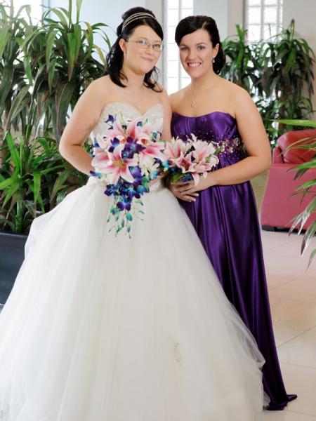 pink-lilies-blue-orchids-bouquet