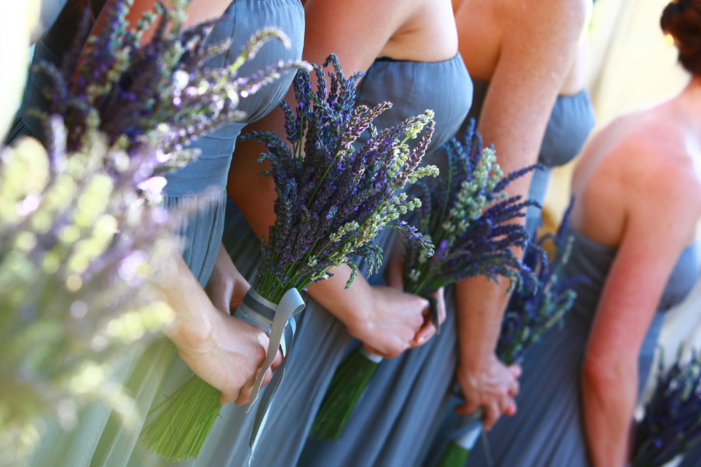 Lavender for Bridesmaids - Bouquet Wedding Flower