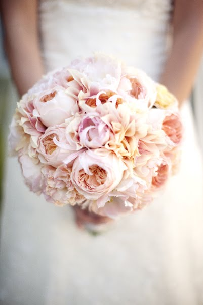 light pink bouquet