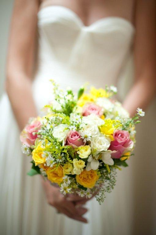 Wedding Flowers Red And Yellow : Julia rose bouquets bouquet wedding flower