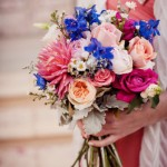 blue-pink-bridesmaid-bouquet