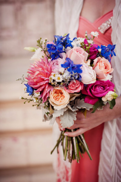 Blue pink bridesmaid bouquet bouquet wedding flower blue pink bridesmaid bouquet mightylinksfo