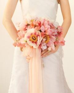 blushing pink bouquet
