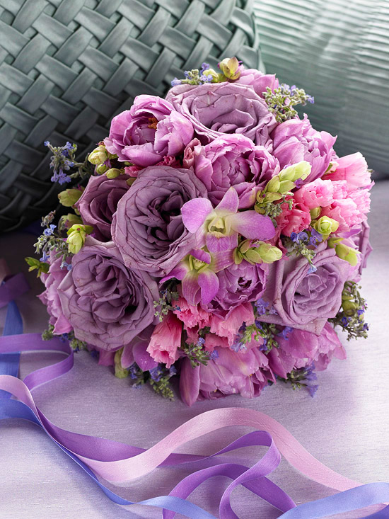 Lavender Color Bouquet