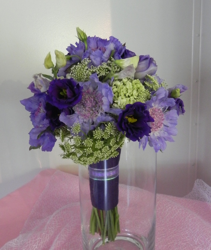 Lavender, Purple and Green
