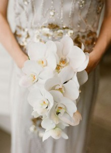 White Phalaenopsis Orchids Bouquet