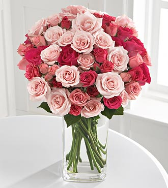 beautiful pink roses for mothers day