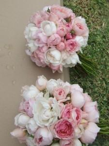 david austen roses pink bouquet
