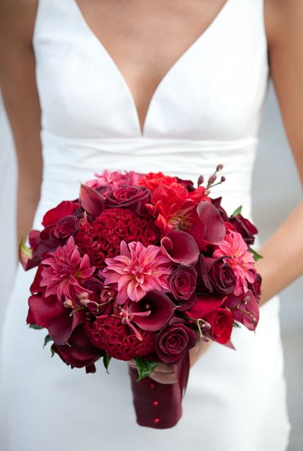 Beautiful All Red Bouquet