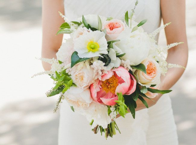 Bouquet inspiration - garden roses