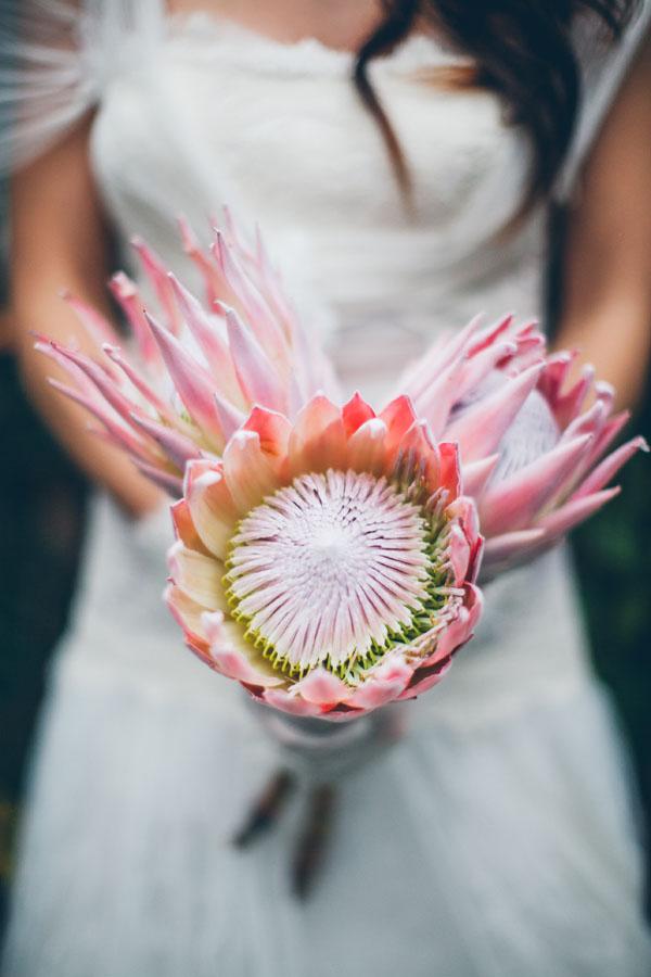 Protea Bridal Boquet