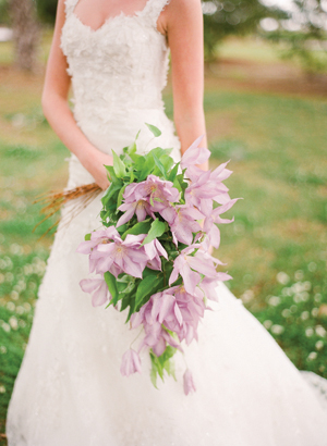 Purple Clematis Bouquet