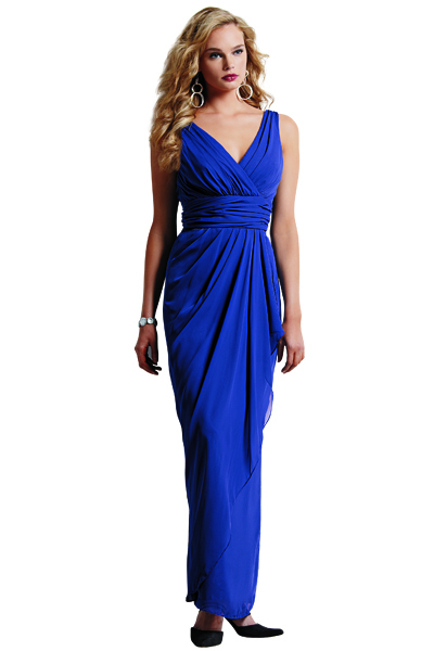 cobalt blue bridesmaid Dress by Jordan