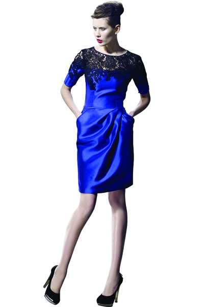 cobalt blue bridesmaid Dress by Love Evening Collection