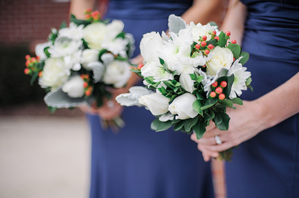 long navy blue bridespmaid dresses. 1