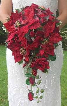 Poinsettia Bouquet Wedding