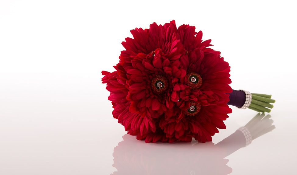 Red Gerbera Wedding Bouquets : Bouquet wedding flower bouquets and flowers page