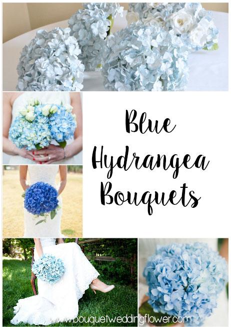Blue hydrangea bouquets http://www.bouquetweddingflower.com