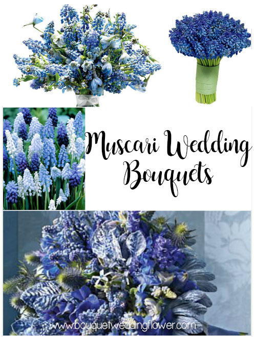 Muscari Wedding Bouquets