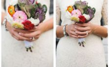 Simple colorful bouquet